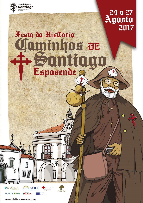 Resultado de imagem para festa da história caminhos de santiago esposende 2017